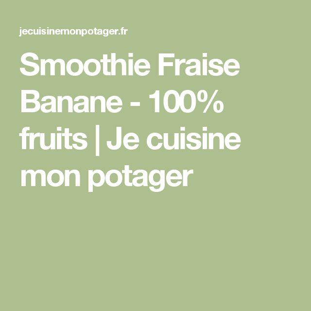 Gateau healthy fraise