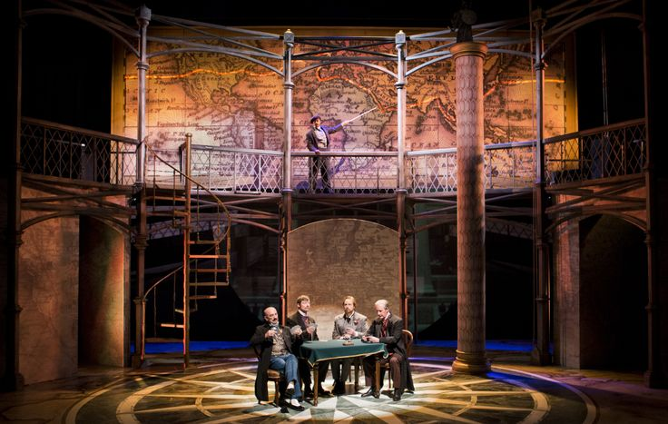 What a gorgeous set for a grand show. Pull up a seat and join in a game of cards or perhaps you would prefer to travel Around the World in 80 Days at Arizona Theatre Company. TUCSON 3/1 - 3/22; PHOENIX 3/27 - 4/13.