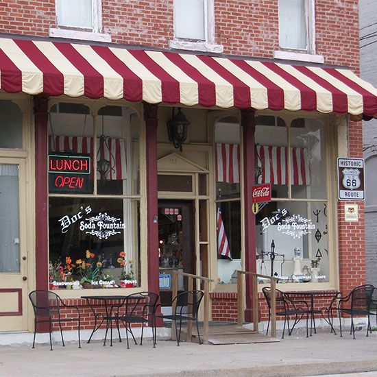 Best Soda Fountains  - Doc's Soda Fountain; Girard, IL