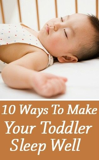 Top 10 Ways To Make Your Toddler Sleep Well: Toddler sleep issues are common, so you should not be too worried.Let us look at some of the common sleeping problems in toddlers and possible solutions for them.