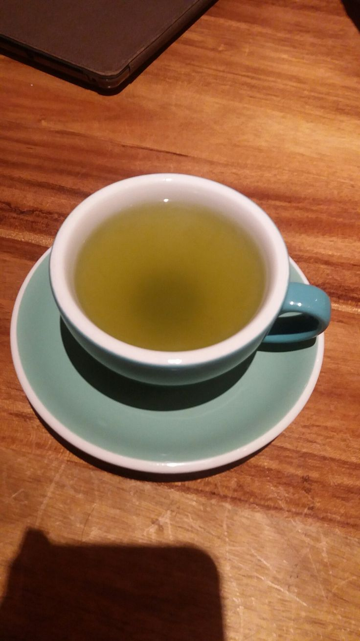Matcha tea from Shirokuma