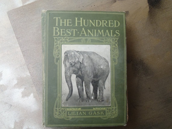 The Hundred Best Animals by Lillian Gask 1914