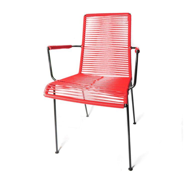 la chaise fil, avec accoudoir de BOQA!