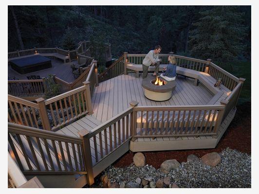 Multi Level Deck - Home and Garden Design Idea's