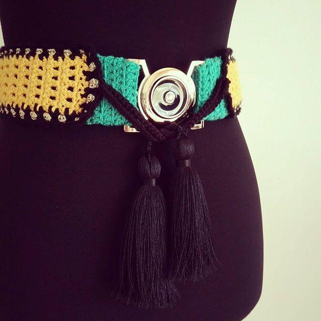 #taramayknit #crochetdesign #handwork #belt