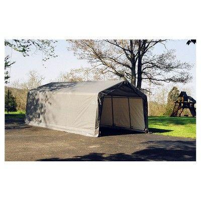sc 1 st  Pinterest & 13u0027 X 20u0027 X 10u0027 Peak Style Shelter- Gray - Shelterlogic | Products