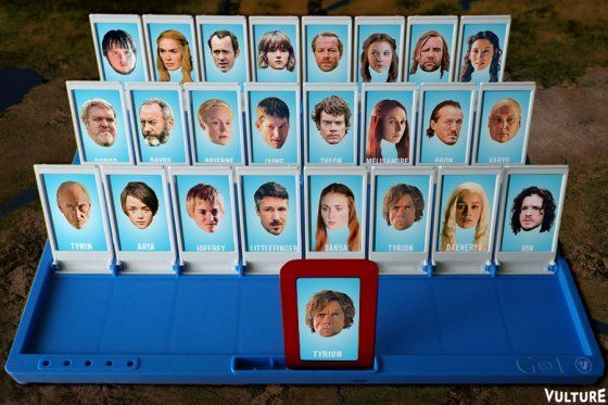 Download the Game of Thrones Version of Guess Who?