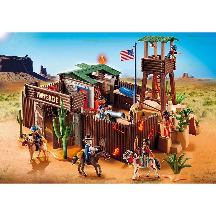 Playmobil Western Duża Forteca na Dzikim Zachodzie, 5245, klocki