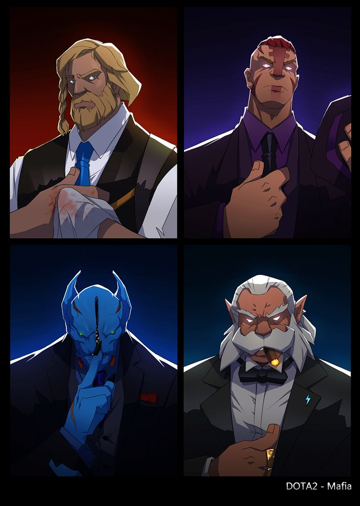dota2 Mafia part2 by biggreenpepper