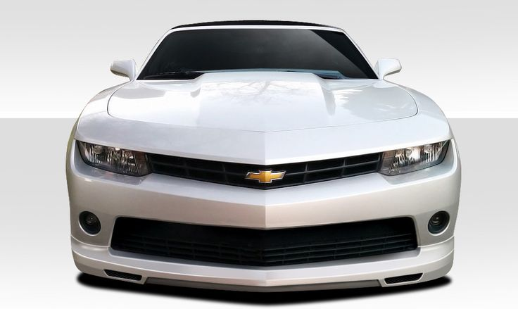 2014-2015 Chevrolet Camaro V6 Duraflex Racer Front Lip Under Air Dam Spoiler - 1 Piece