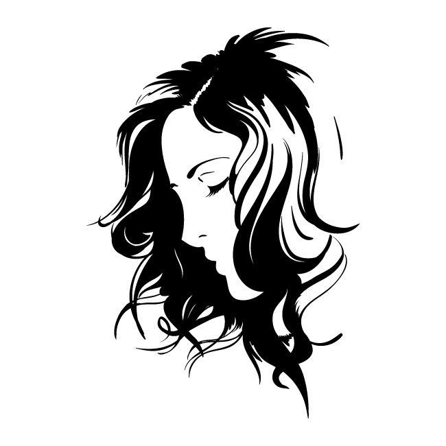 Vinilo Decorativo Rostro de Mujer
