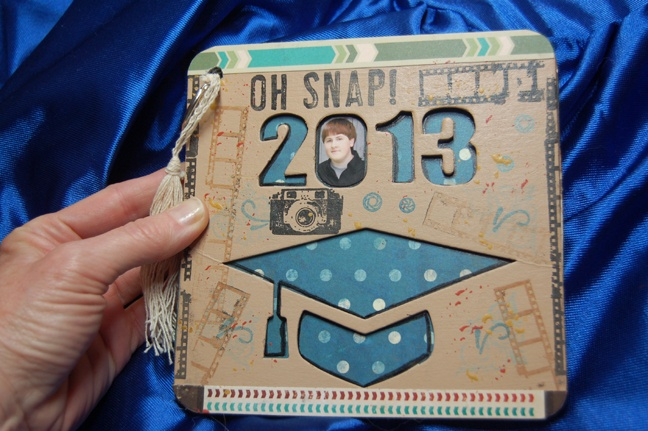 """Oh Snap"" Jake's Graduation Album - Scrapbook.com"