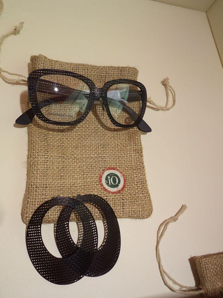 Linea Iuta occhiali ed orecchini  #eyewear #handmade #cool #funny #fashion #occhiali #orecchini #italy #italia
