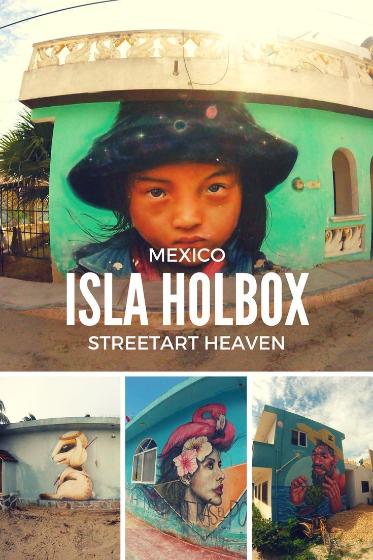 Isla Holbox in Mexiko ist Streetart Heaven! Die karibische Insel trägt einmal im Jahr ein Streetart Festival aus zu dem internationale Größen der Szene kommen. Was man sonst noch auf bei einem Urlaub auf der Isla Holbox in Yucatan erleben kann (und wo die leckersten Restaurants sind), kannst du in unserem Reisebericht erfahren.