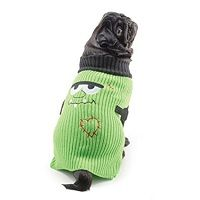 Halloween Green Sweater for Dogs  Price €11.99 [£10.43]
