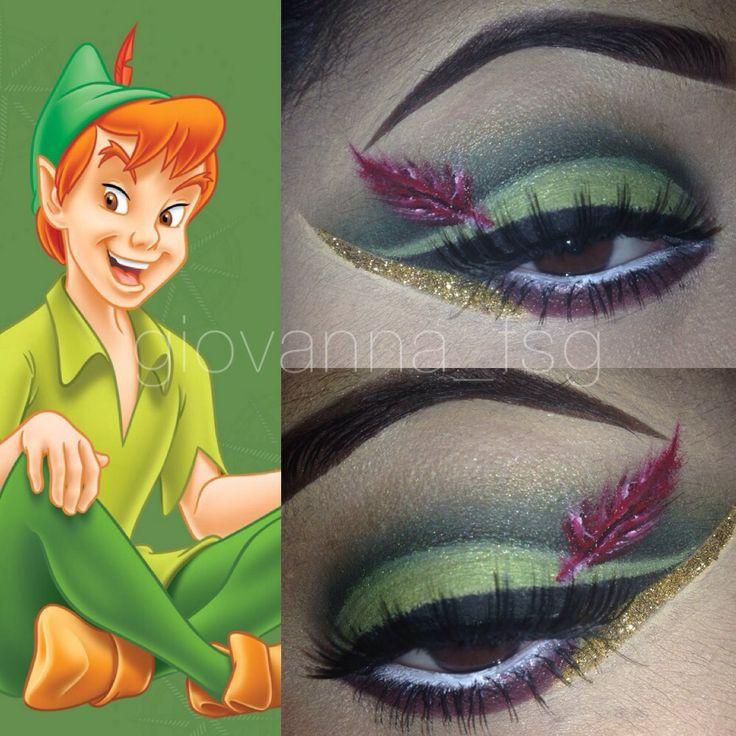 Peter Pan makeup!