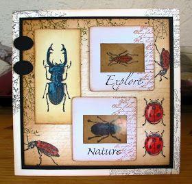 Ellen's kaartjes: Art Journey, new stamps # 2