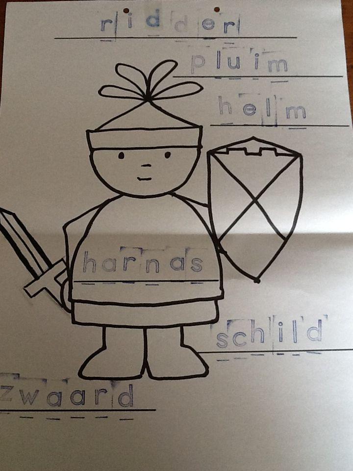 Stempelopdracht ridder.