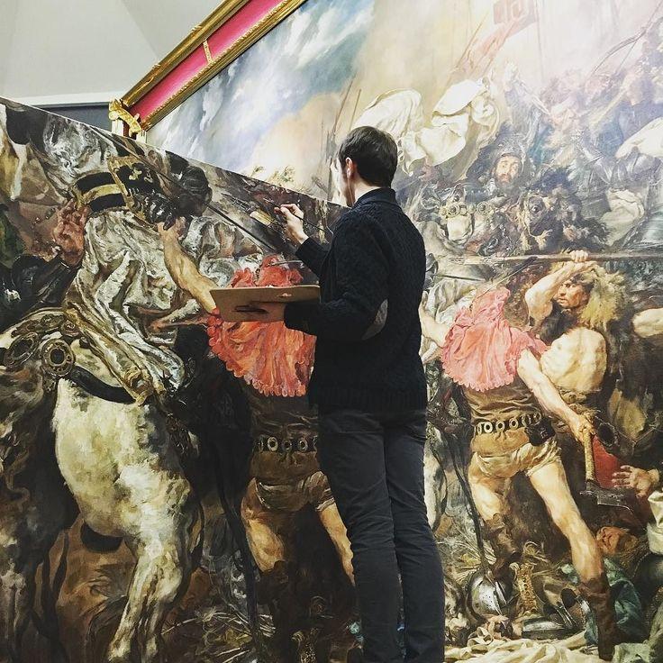 A w Muzeum Narodowym taka sytuacja przy Bitwie pod Grunwaldem...