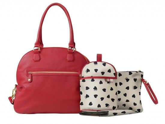 Isoki Madame Polly - Blush nappy bag $239NZ  www.babystuff.co.nz