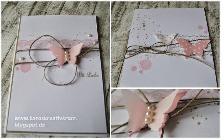 Karos Kreativ Kram: romantic card