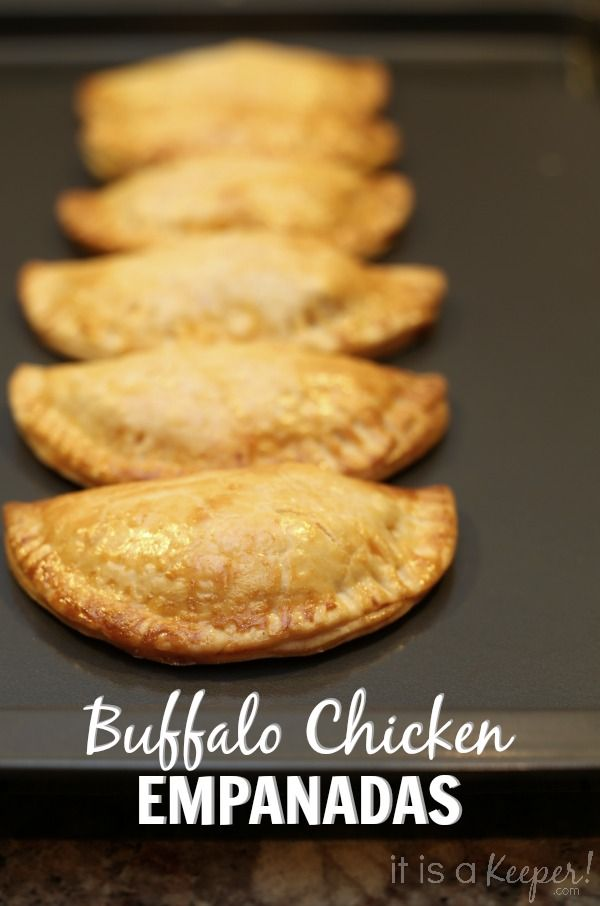 Buffalo Chicken Sauce Empanadas - It Is a Keeper