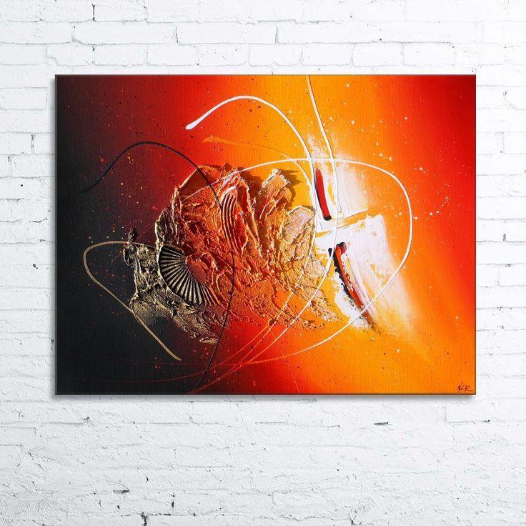 vent solaire tableau abstrait moderne contemporain en relief peintures par tableaux abstraits nathalie - Tableaux Abstraits Colors