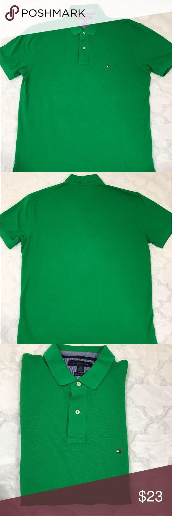 Tommy Hilfiger polo green XXL men's Gently used. No stains or tears. Men's XXL. Tommy Hilfiger Shirts Polos