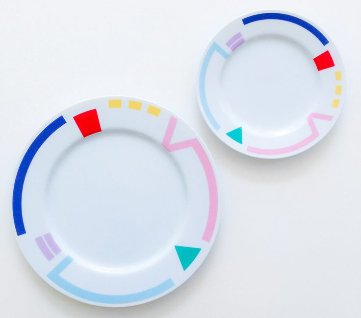 Vintage Studio Nova plates