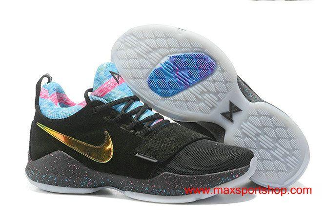 "Nike PG 1 ""EYBL"" Elite Youth Basketball League Limited Edition Basketball Shoes"