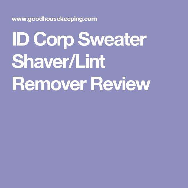 ID Corp Sweater Shaver/Lint Remover Review