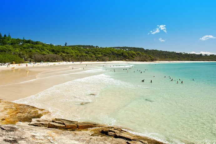 Cylinder Beach | 6 secret camping spots near Brisbane