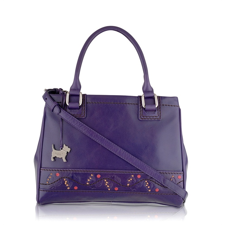 Purple Radley bag - bought this - deceptively roomy