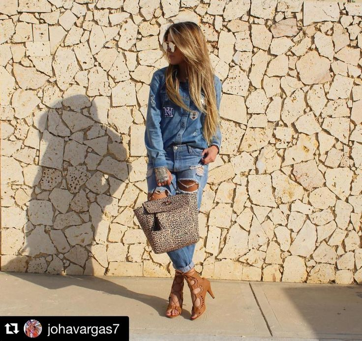 Total denim+ MERCEDES CAMPUZANO  #Repost @johavargas7 with @repostapp.