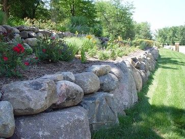 Retaining Walls - other metro - by Ted Lare Design Build & Garden Center