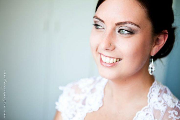Beach type wedding Make-up done By Yolandie - Hair & Make-up Artist