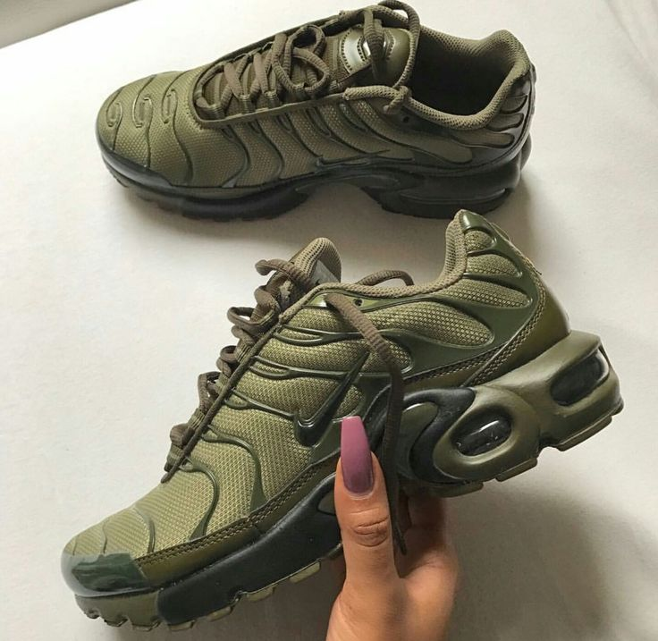 Olive green Nike Tuned