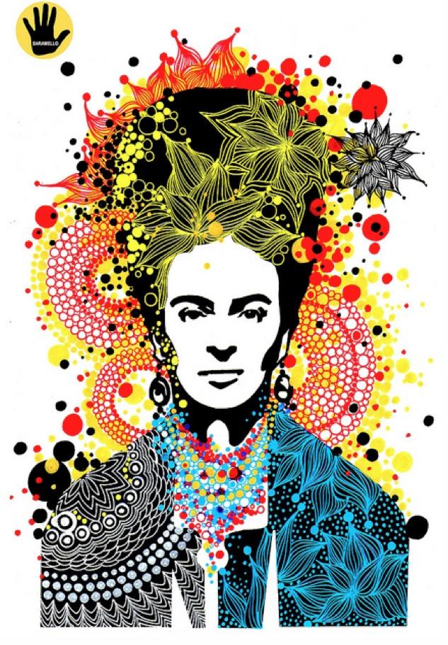 Tribute to Frida Kahlo