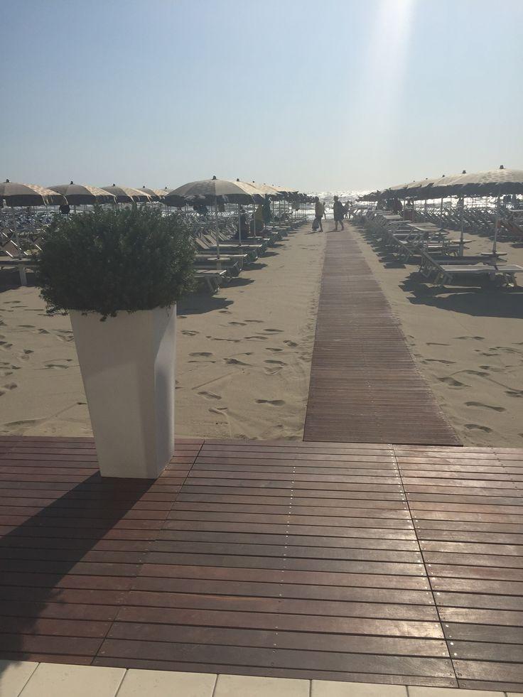 Cervia Milano Marittima beach