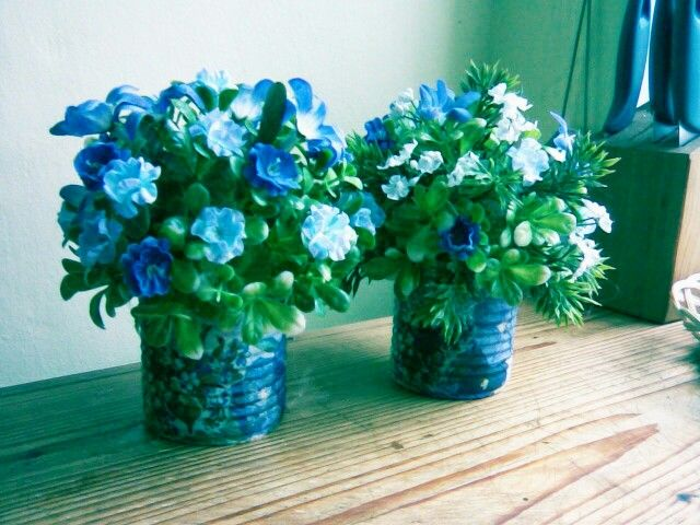 Simply blue..