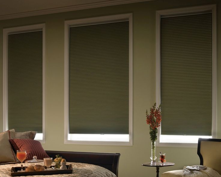 Awesome Remote Controlled Blackout Cellular Blinds Are Fantastic For Media Rooms  And For Day Sleepers. Those High Windows Are Now Controlled.