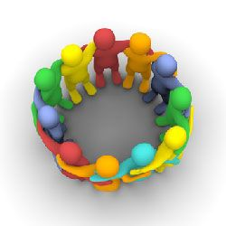 Ik moet sociaal aangelegd zijn om verschillende problemen op te lossen.
