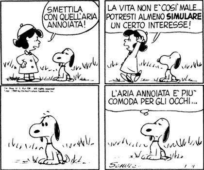 Il mondo secondo Snoopy Italian Edition