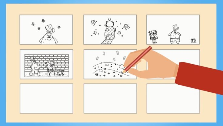 Drawing storyboards