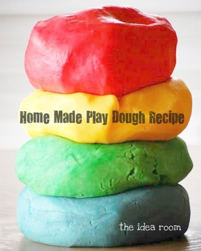 Make Home Made Play Dough that smells delicious!    Amy Huntley (The Idea Room)