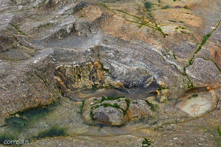 Na zona costeira a sul da foz do Rio Douro, no litoral da cidade de Vila Nova de Gaia, aflora uma faixa de rochas metamórficas, com grande heterogeneidade litológica, incluindo rochas gnaisso-migmatíticas, metassedimentos pelíticos (micaxistos e quartzo-micaxistos) e anfibolitos. Madalena (Gaia) Portugal