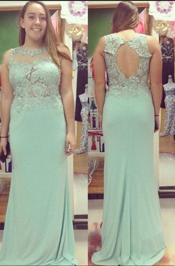 8ab5a81658ae1 Beading Appliques Stretch Satin Prom Dresses Prom Gowns,Prom Dresses ...