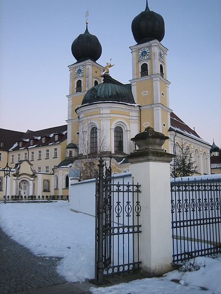 Abbey of St. Michael at Metten in Germany  is a house of the Benedictine Order.  situated between the fringes of the Bavarian Forest and the valley of the Danube, in Bavaria in Germany. The abbey was founded in 766 by Gamelbert of Michaelsbuch.