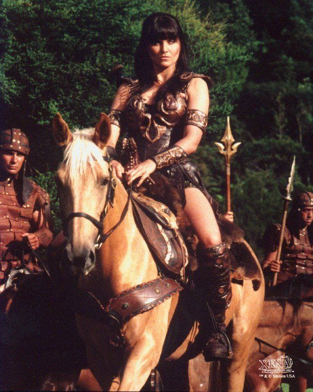 My Childhood Inspirations: In a time of ancient gods, warlords, and kings, a land in turmoil cried out for a hero. She was Xena, a mighty princess forged in the heat of battle. The power, the passion, the danger. Her courage will change the world. BEST INTRO EVER.