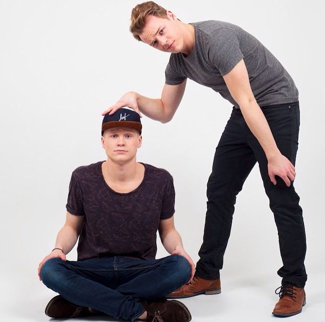 Kelvin Boerma and Peter de Harder - Cinemates photoshoot